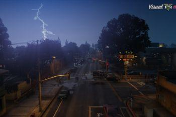 1b0a75 visualvanilla lightningrays
