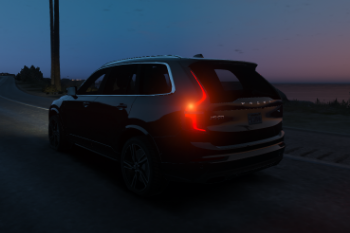 8308d3 volvo xc90 night back