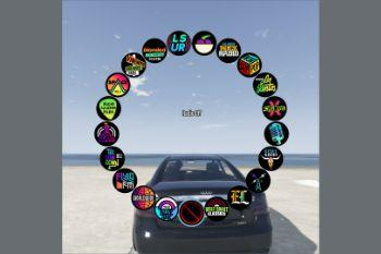 92b6de radio wheel