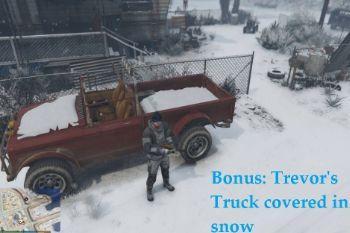 17de7e bonus trevor's truck covered in snow pic2