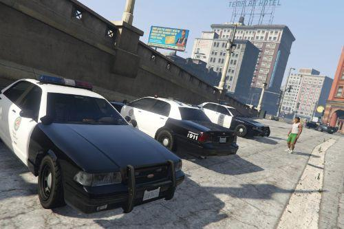 10 Pound Police Vehicles
