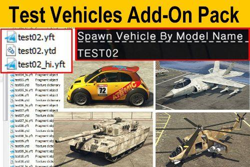 683edb test vehicles add on pack