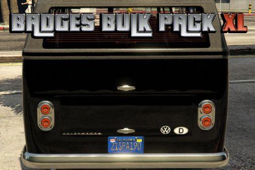 100 almost real badges for vehicles in GTA 5