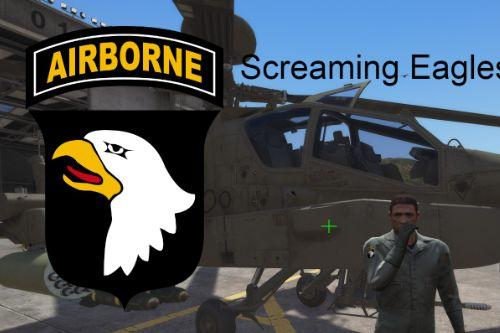 101st Airborne Division Patches for Pilot   Replace