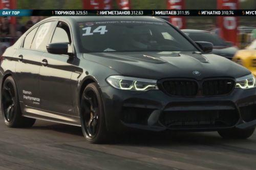 1300hp Handling & Sound for S4MuEL's 2018 BMW M5 F90