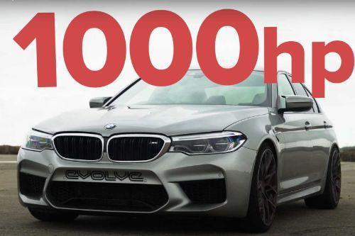 1000HP Handling & Sound swap for S4MuEL's 2018 BMW M5 F90