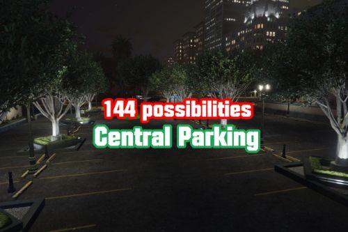 144 possibilities parking ( YMAP ) parking central
