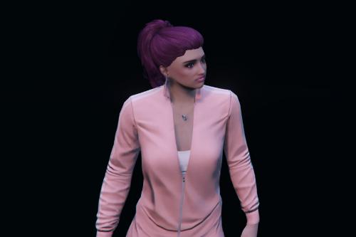 16 Custom Hoodie and Sweatpants pack for MP Female
