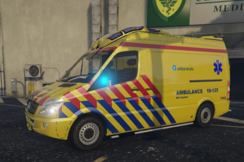 19-125 Ambulance Mercedes Otaris Sprinter 2011 RAV Zeeland [SKIN]