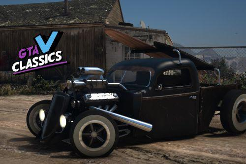1936 Ford Pickup Rat Rod [Add-On | LODs| Extras | Liveries]