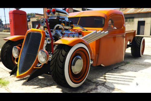 1936 Ford Pickup Hotrod Style [Tuning]