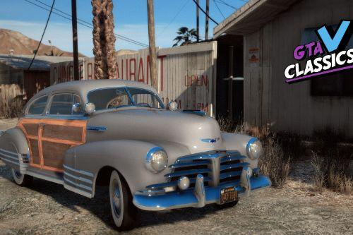 1948 Chevrolet Fleetline Aerosedan [Add-On | LODs | Extras]