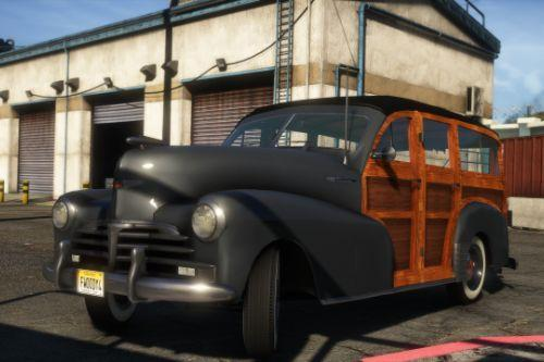 1948 Chevrolet Fleetmaster Woody [Add-On | LODs]