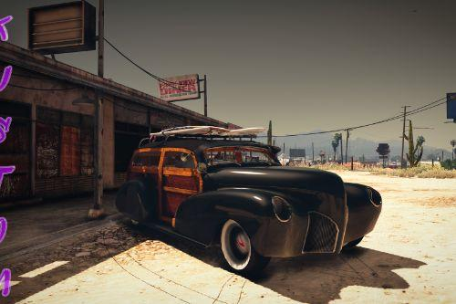 1948 Chevrolet Fleetmaster Woody Kustom [Add-On | Extras | LODs]