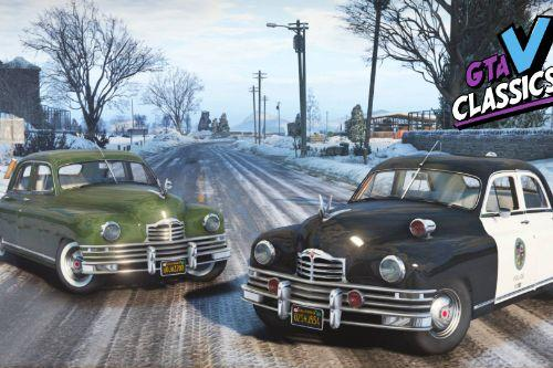 1948 Packard Standard Eight \w Police version [Add-On | Extras | LODs]