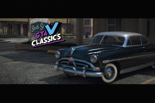 1952 Hudson Hornet [Add-On | Extras | LODs | Template]