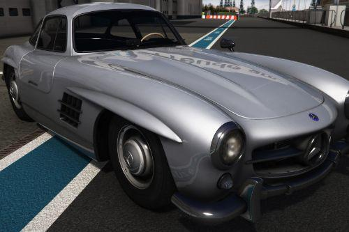 1954 Mercedes-Benz 300 SL [Add-On | Animated | LODS]
