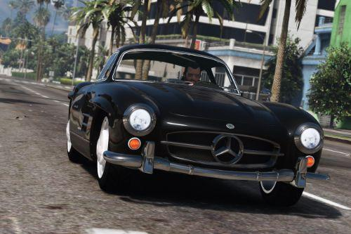 1955 Mercedes-Benz 300SL Gullwing [Add-On / Replace | Tuning]