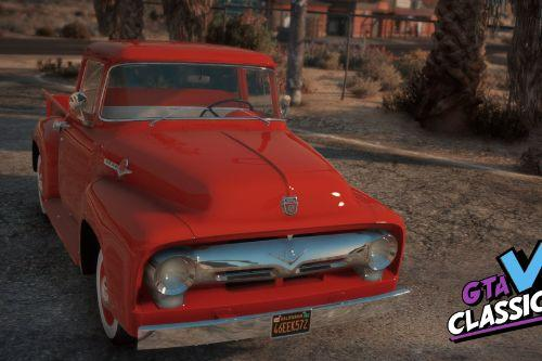 1956 Ford F-100 Pack [Add-On | LODs | Template]