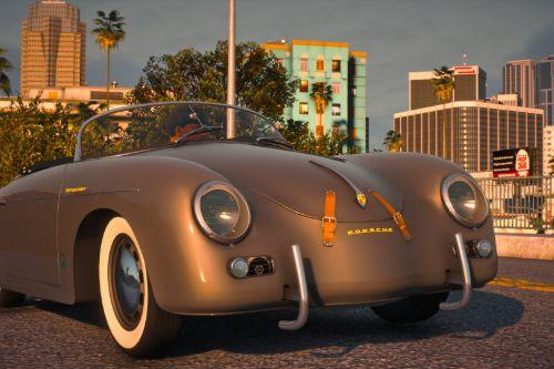 1956 Porsche 356 Speedster [Add-On | LODs | Template | Tuning]