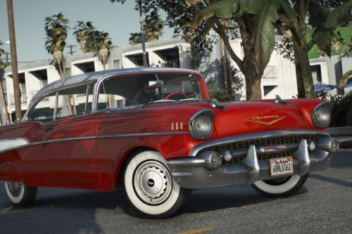 1957 Chevrolet Bel Air [Add-On | LODs | Template]