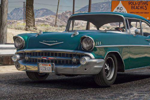 1957 Chevrolet Bel Air (Clean Version) [Replace]
