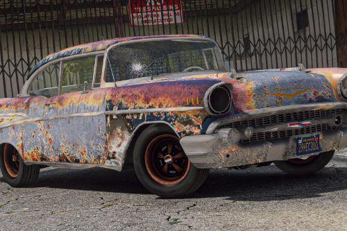 1957 Chevrolet Bel Air (Rusty Version) [Replace]