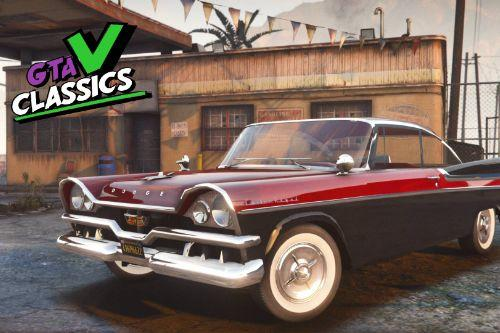 1957 Dodge Custom Royal Lancer [Add-On | Extras | LODs]