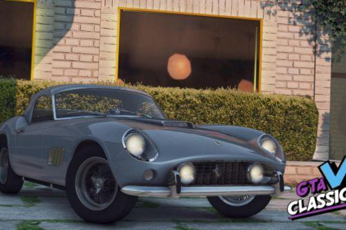 1957 Ferrari 250 GT California Spyder LWB [Add-On | LODs | Template]