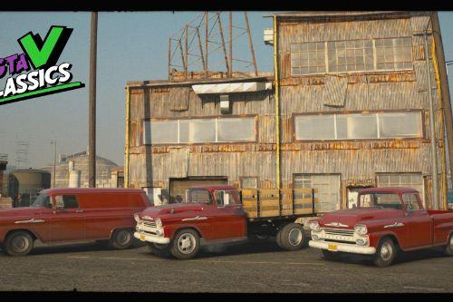 1958 Chevrolet Apache Pack [Add-On | Extras | LODs]