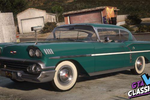 1958 Chevrolet Bel Air Impala Pack [Add-On | Template | Extras | LODs]
