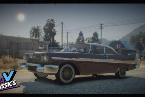 1958 Plymouth Pack [Add-On | Extras | LODs]