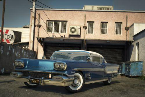 1958 Pontiac Bonneville [Add-On | extras]