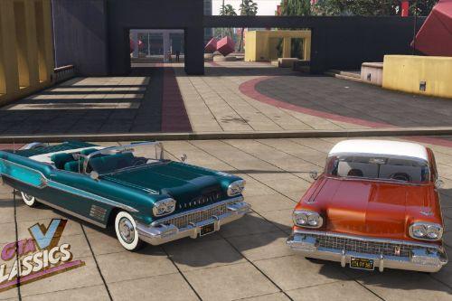 1958 Pontiac Bonneville [Add-On | Extras | LODs]