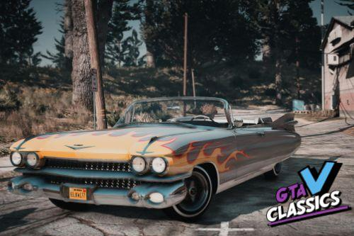1959 Cadillac Eldorado Biarritz Convertible [Add-On | LODs | Template]