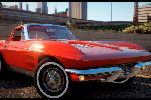 "1963 Corvette ""Split Window"" [Add-on / FiveM 