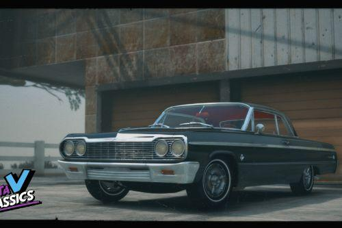 1964 Chevrolet Impala SS [Add-On | Extras | Tuning | LODs | Template]
