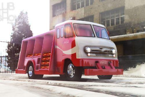 1964 Ford P600 Coca-Cola Delivery Truck [Add-On]