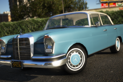 1964 Mercedes-Benz 220s W111 [Add-On | LODs]