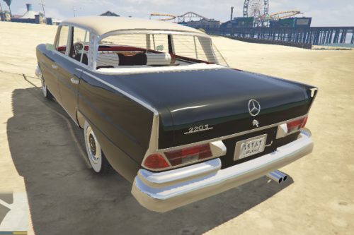 1964 Mercedes-Benz 220S W111 [Add-On / Replace]