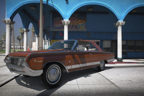 1964 Mercury Marauder Parklane [Add-On | Extras | LODs]