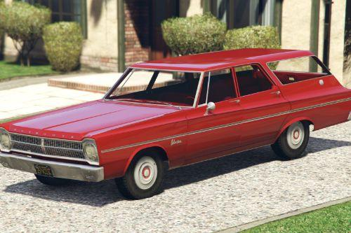 1965 Plymouth Belvedere I Wagon [Add-On / Replace]