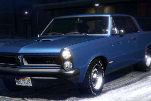 1965 Pontiac Tempest Le Mans GTO [Add-On | Template]