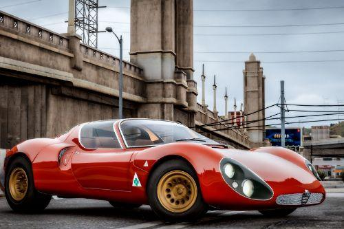 1967 Alfa Romeo 33 Stradale [Add-On]