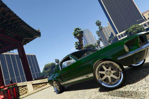 1967 Ford Mustang Fastback Fast And Furious Tokyo Drift [Add-On / Replace]