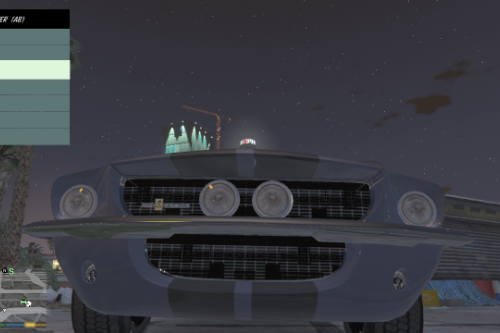 1967 Ford Mustang GT500 Retexture