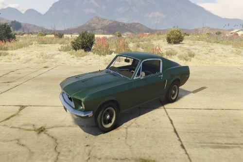 1968 Ford Mustang Fastback [Add-On / Replace]