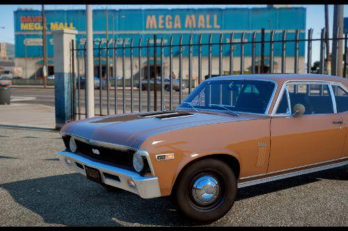 1969 Chevrolet Nova [Add-On / FiveM | Extras | Template | LODs]