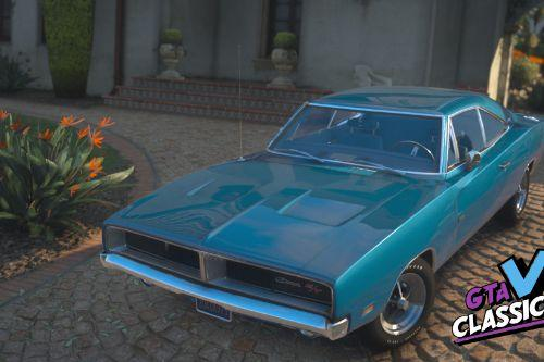 1969 Dodge Charger R/T 426 Hemi [Add-On | Extras | Tuning | LODs | Template