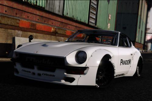 1969 Pandem Nissan S30 [Add-On | RHD | 4K Template]